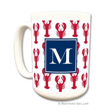 Mugs - Lobsters Red