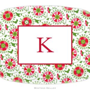 Platter - Suzani Holiday
